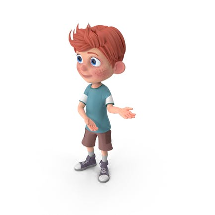 Cartoon Boy Charlie Showcase
