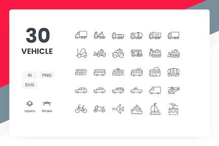 Fahrzeug - Icons Pack