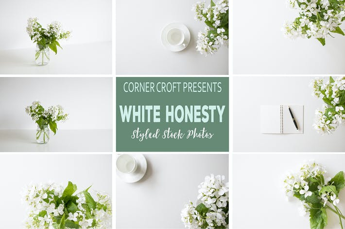 Thumbnail for White Honesty Styled Stock Photo Bundle