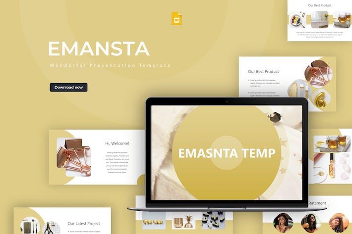 Thumbnail for Emansta - Google Slides Template