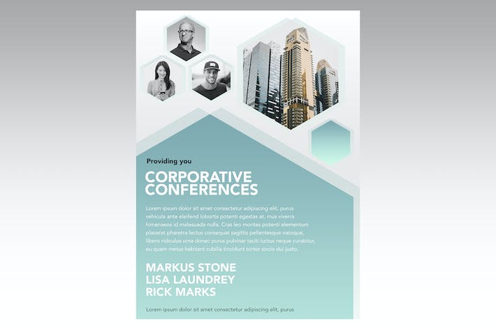 Thumbnail for Corporative Week Flyer Poster