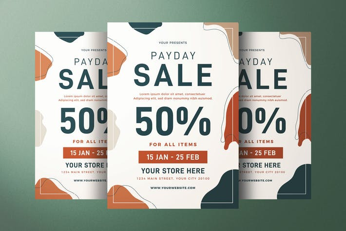 Thumbnail for Payday Sale Flyer