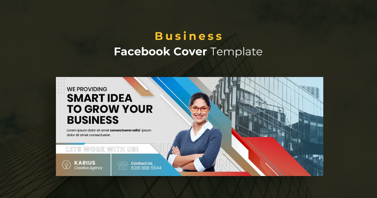 Download Business r12 Facebook Cover Template by youwes