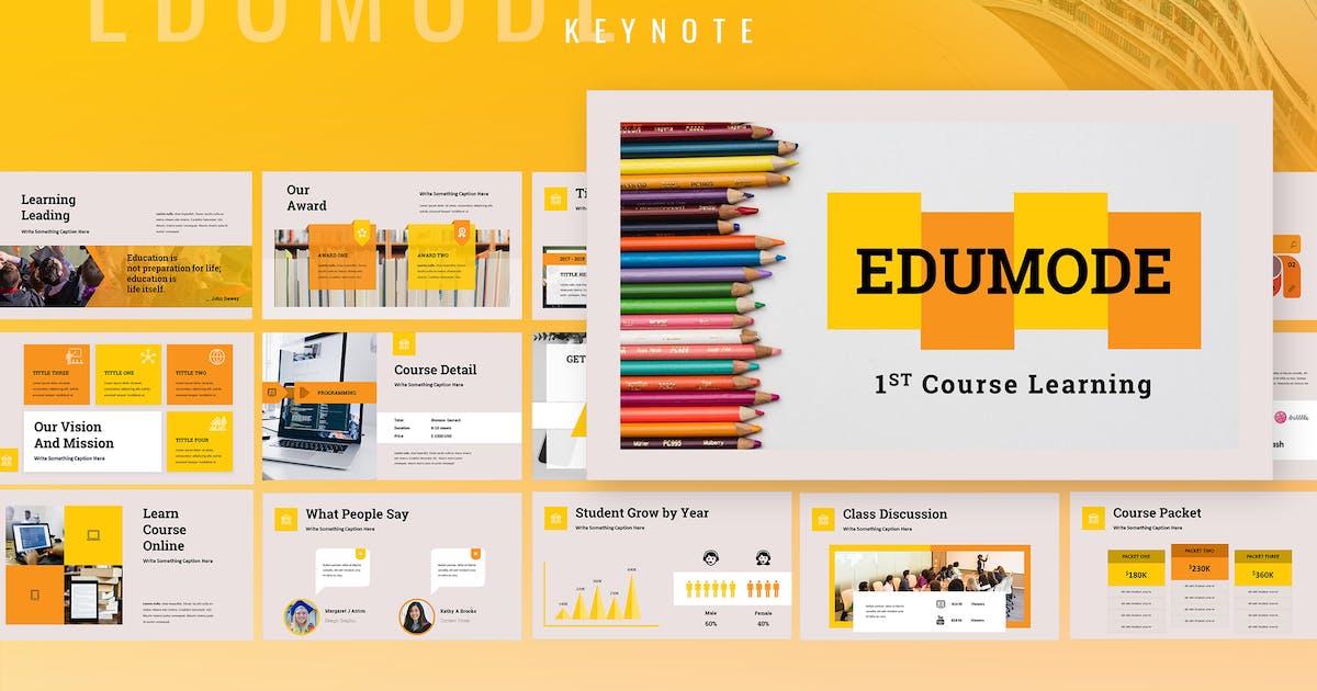 Download Edumode - Education Keynote Presentation by TMint