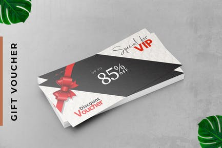 VIP Gift Voucher Card Promotion