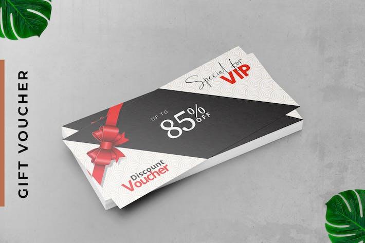 VIP-Geschenkgutschein-Karte
