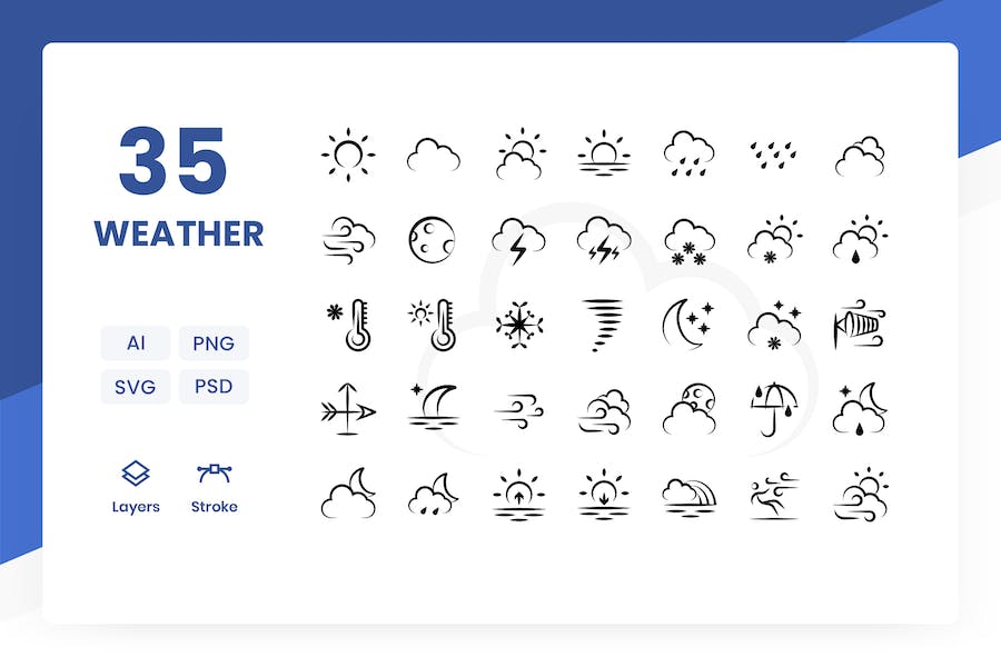 Weather - Icons Pack