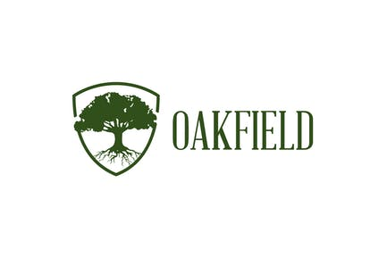 Oak Field - Oak Tree Logo