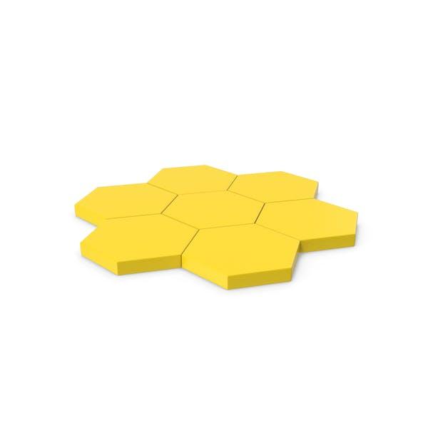 Шестигранная мозаика