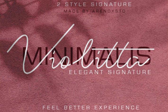 Violitta - Signature élégante