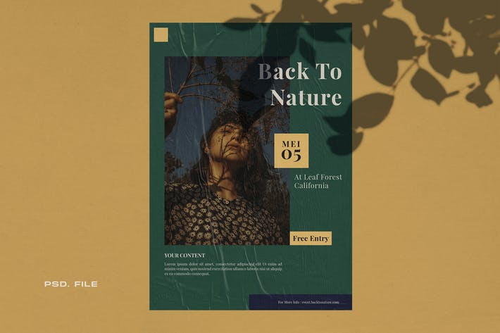 Thumbnail for Back To Nature Flyer