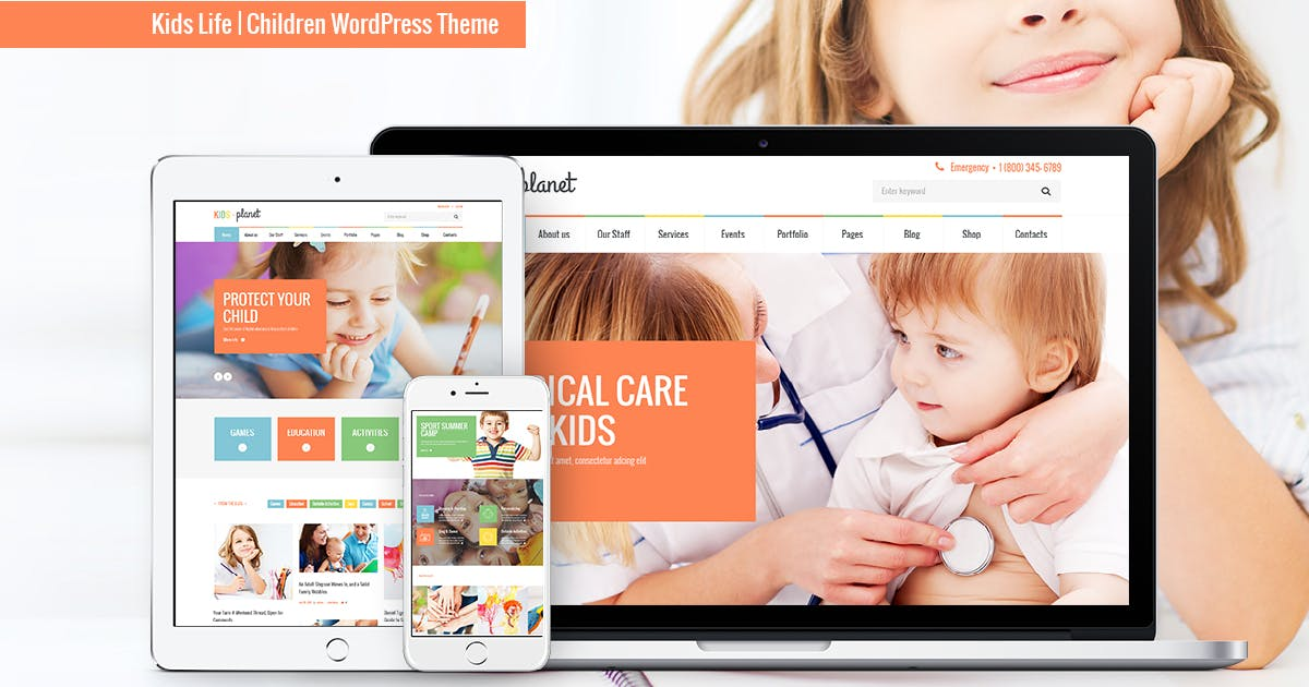 Download Kids Planet - A Multipurpose Children WP Theme by AncoraThemes