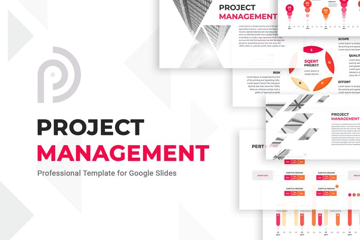 Cover Image For Project Management Google Slides