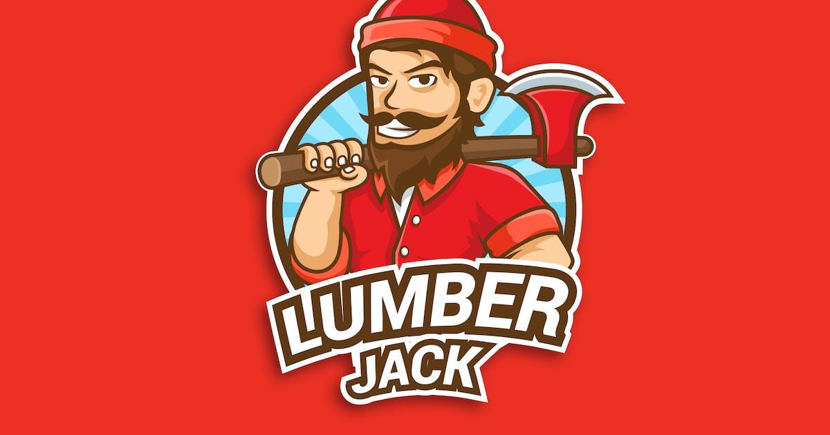 Professional Lumberjack Occupation Logo Vector by naulicrea
