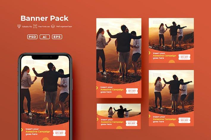 Thumbnail for Pack de bannière ADL .v32