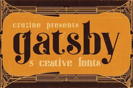 Gatsby - Fuente ArtDeco