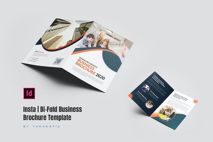 Insta | Bi-Fold Business Brochure Template