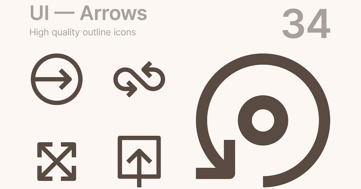Download UI — Arrows by polshindanil