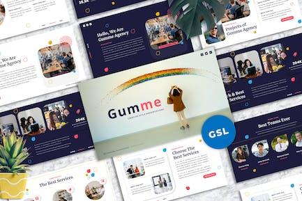 Gumme - Creative Googleslide Template