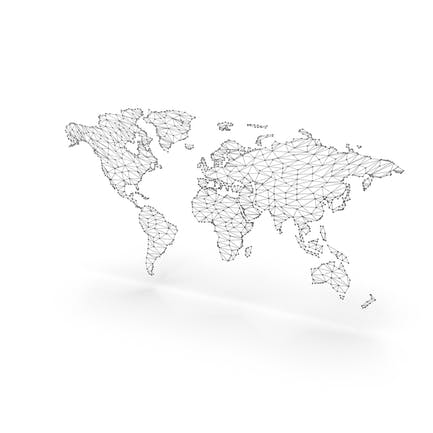 Wireframe Continents