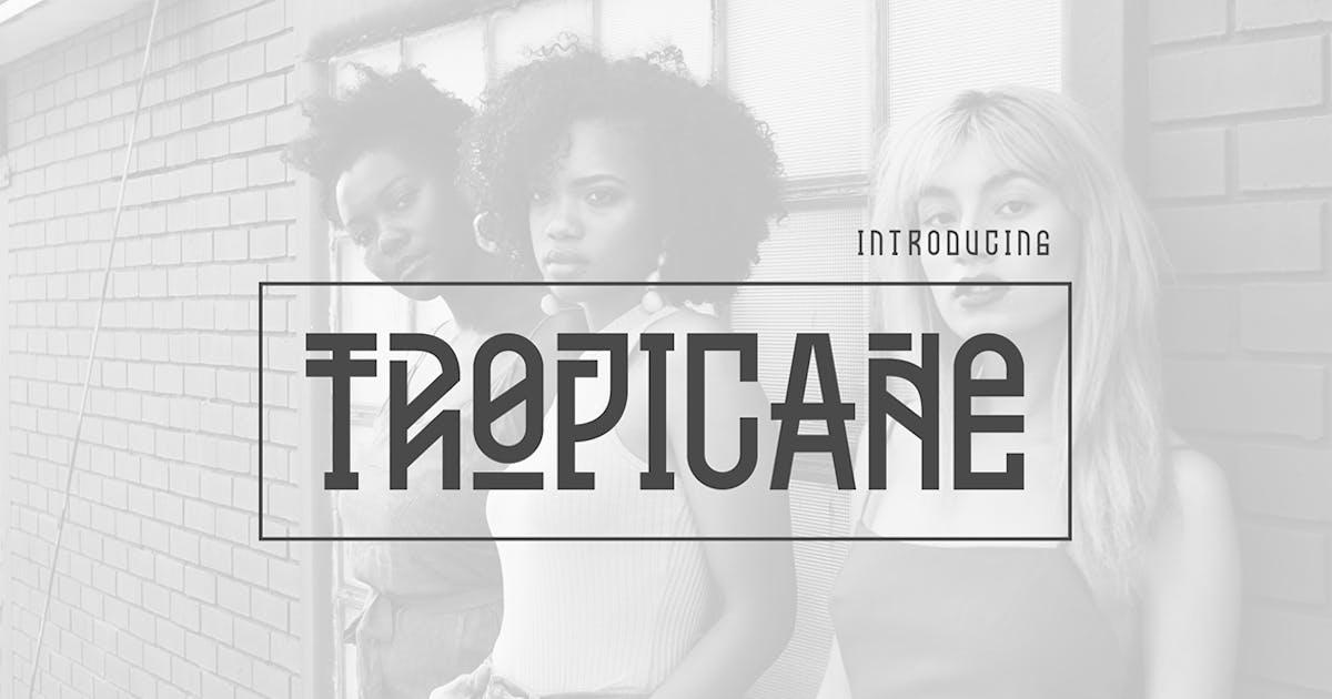 Download Tropicane Typeface by Ramzehhh
