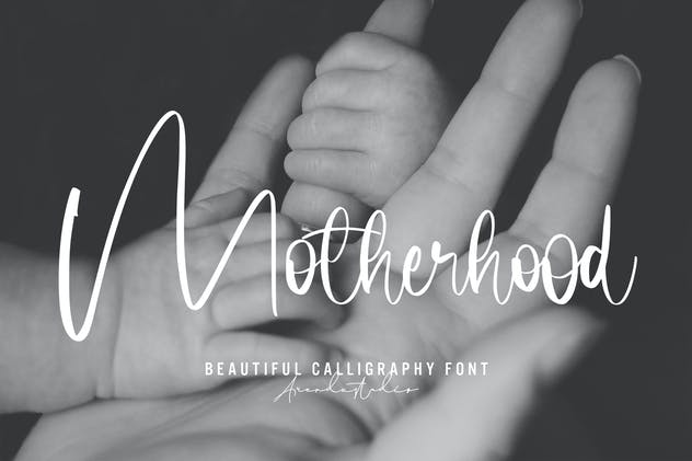 Motherhood - Calligraphy Font
