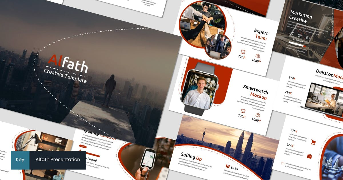 Download Alfath - Keynote Template by inspirasign