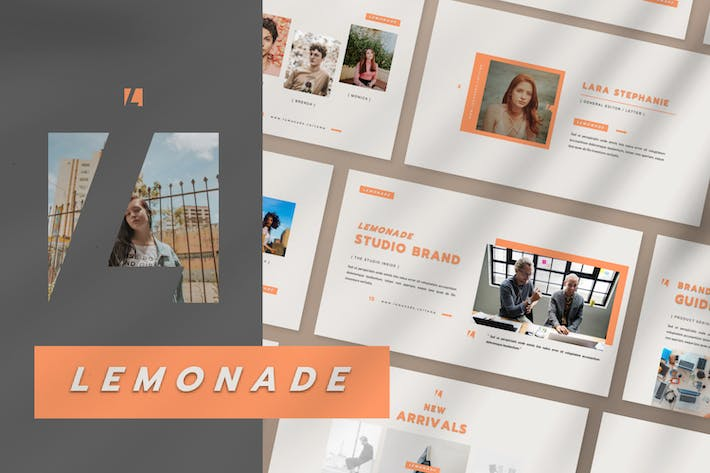 Thumbnail for Lemonade Business Creative Presentation