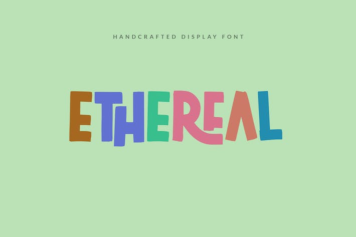 Thumbnail for Ethereal - Handwritten Display Font