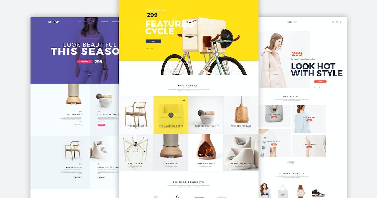 Download ECOSHOP - Multipurpose eCommerce WordPress Theme by M_Adnan