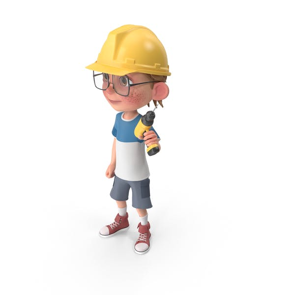 Cover Image for Cartoon Boy Harry Worker