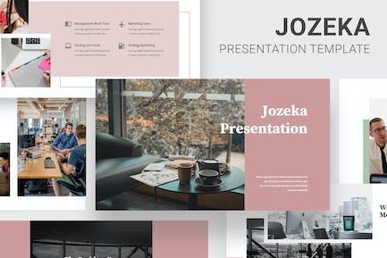 Jozeka - Investor Pitch Deck Powerpoint