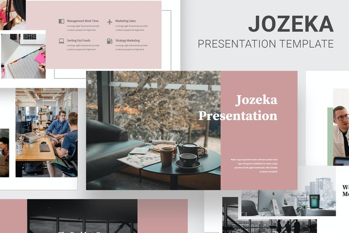 Thumbnail for Jozeka - Investor Pitch Deck Powerpoint