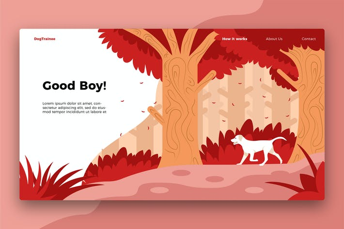 Thumbnail for Good Dog - Banner & Landing Page