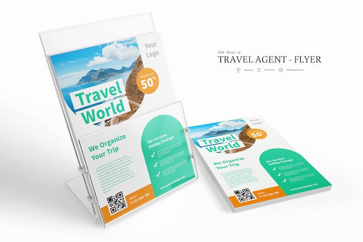Thumbnail for ALS - Travel Agent Flyer Pack Vol. 01