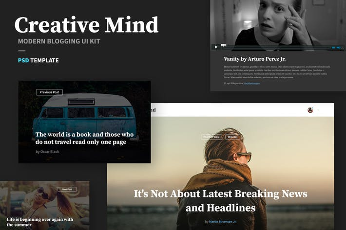 Thumbnail for Creative Mind UI Kit