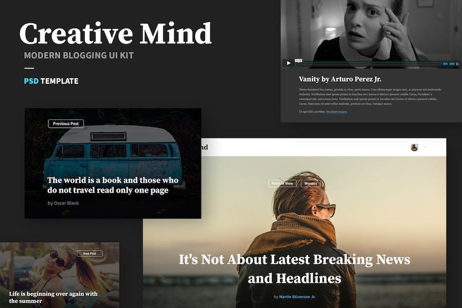 Creative Mind UI Kit