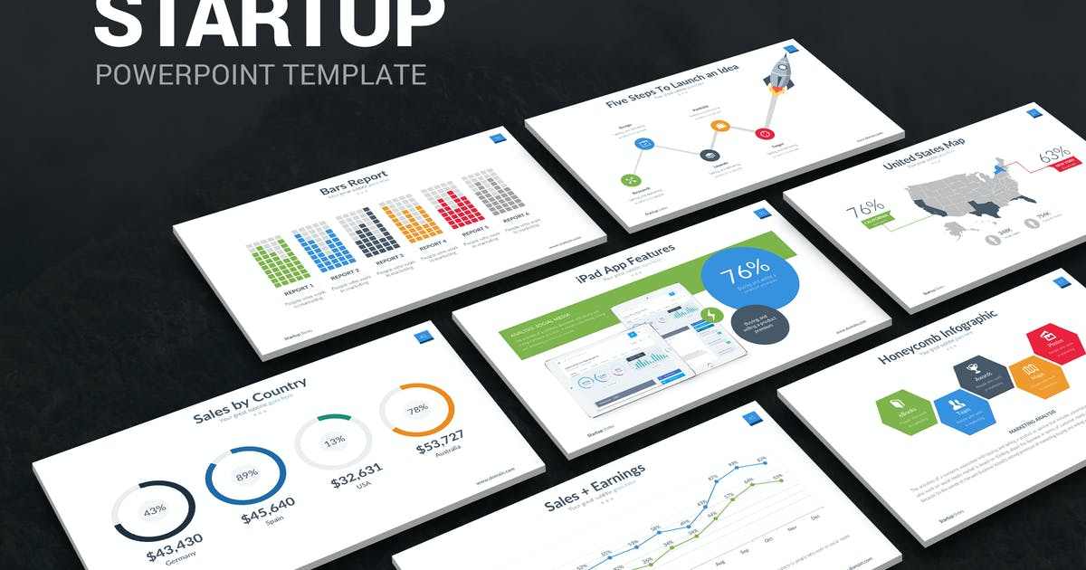 Download Startup Powerpoint Template by slidefusion