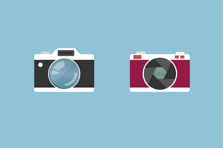 Cover Image For Funky Camera Icons