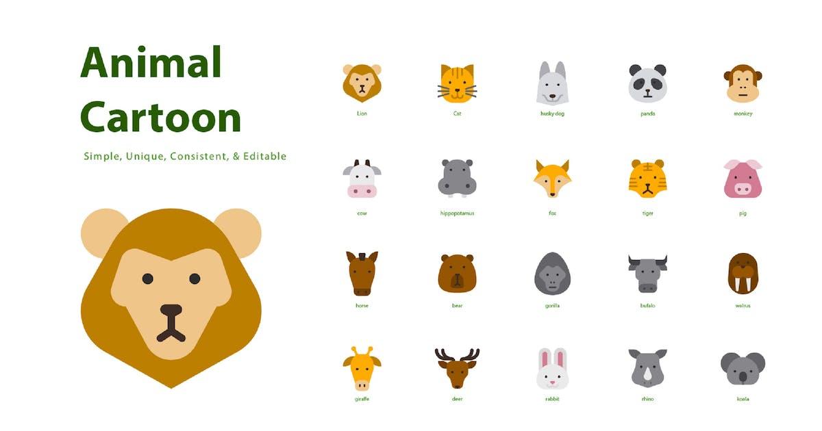 Download Animal Cartoon (Flat) by kerismaker
