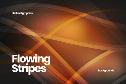 Flowing Wavy Stripes Backgrounds