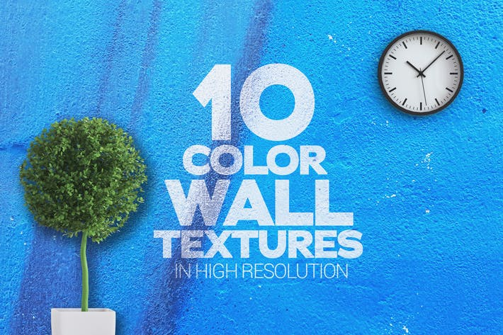 Thumbnail for Color Wall Textures x10
