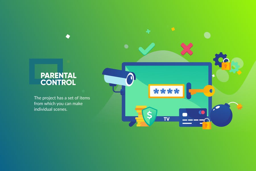 Security Banner & Landing Page