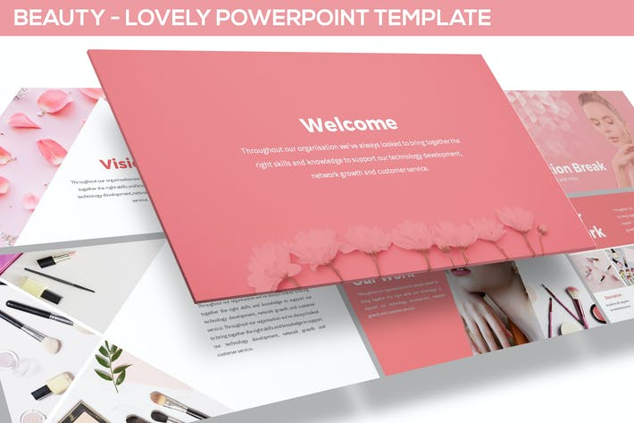Cover Image For Beauty - Powerpoint Template