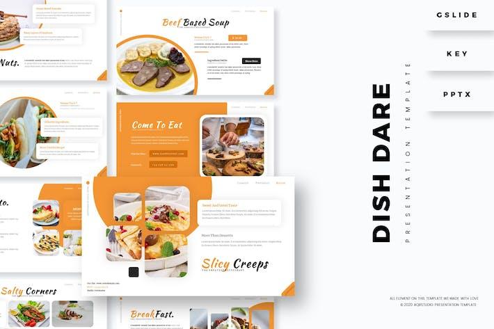 Dish Dare - Presentation Template