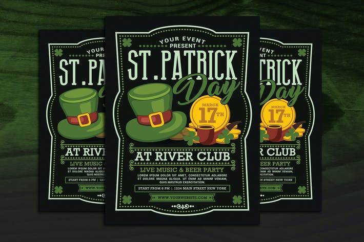 Thumbnail for St Particks Day Flyer