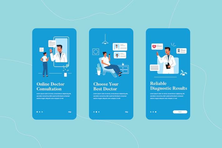 Thumbnail for Online Doctor Consultation Onboarding App