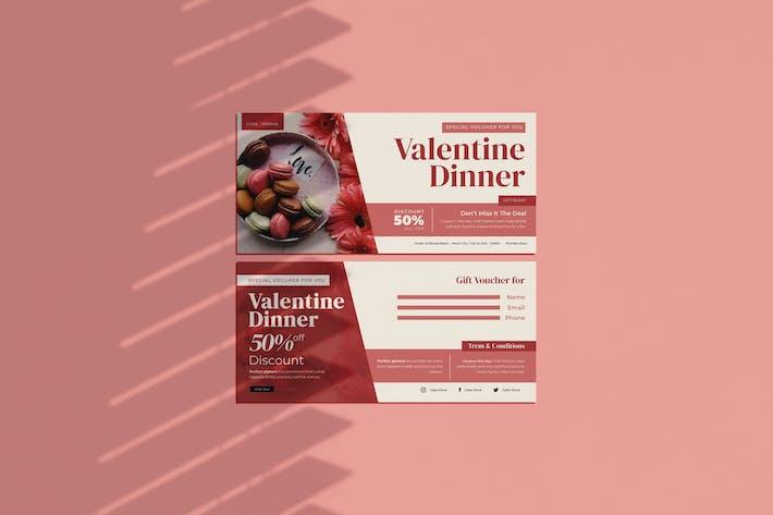 Thumbnail for Valentine Dinner Voucher