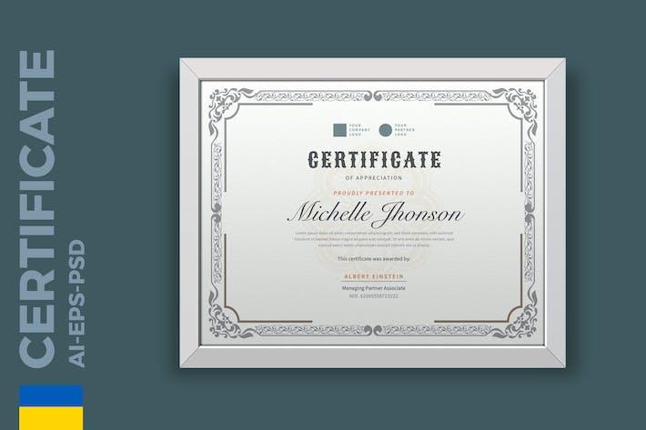 Thumbnail for Certificado Clássico/Modelo Diploma Pro