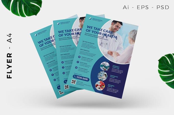 Thumbnail for Gesundheitsarzt Flyer Design